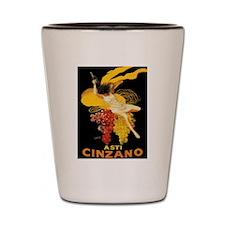 Vintage poster - Asti Cinzano Shot Glass