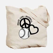BASEBALL (both sides) Tote Bag