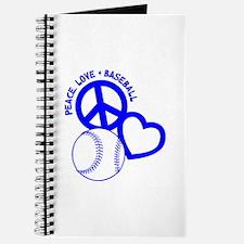 PEACE-LOVE-BASEBALL Journal