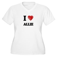 I Love Allie Plus Size T-Shirt