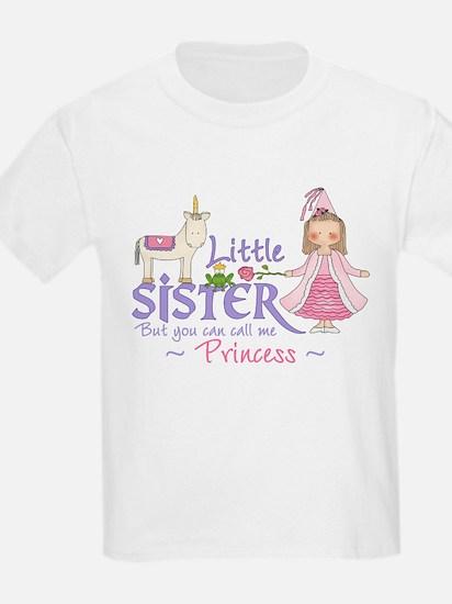 Unicorn Princess Little Sister T-Shirt