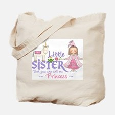 Unicorn Princess Little Sister Tote Bag