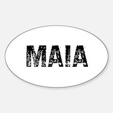 Maia Oval Decal