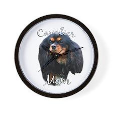 Cavalier Mom2 Wall Clock