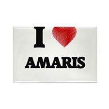 I Love Amaris Magnets