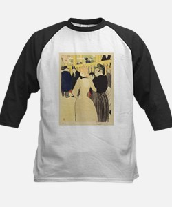 Vintage poster - At the Moulin Rou Baseball Jersey