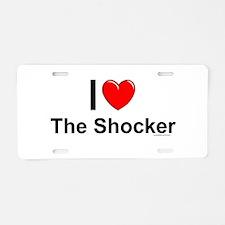The Shocker Aluminum License Plate
