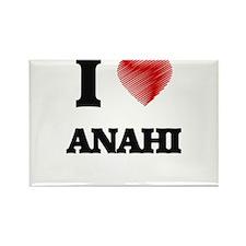 I Love Anahi Magnets