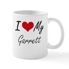 I Love My Garrett Mugs