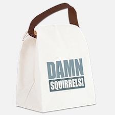 Damn Squirrels! Canvas Lunch Bag