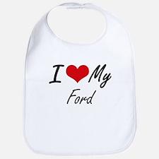I Love My Ford Bib