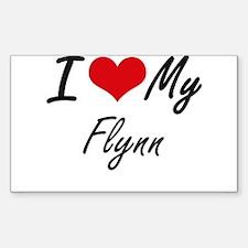 I Love My Flynn Decal