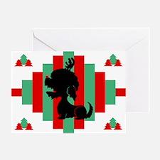 Dandie Dinmont Christmas Card