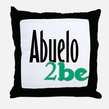 Abuelo to Be Throw Pillow