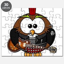 Punk Rock Owl Puzzle