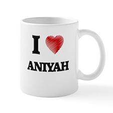 I Love Aniyah Mugs