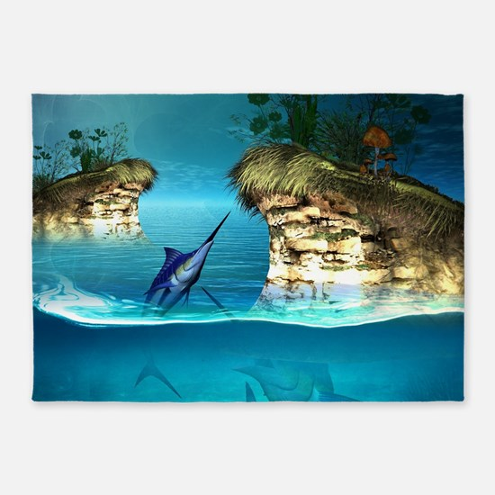 The dreamworld 5'x7'Area Rug