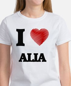 I Love Alia T-Shirt