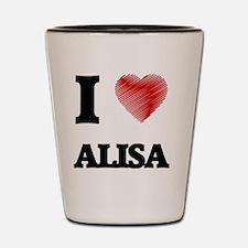 Funny Alisa Shot Glass