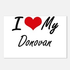 I Love My Donovan Postcards (Package of 8)