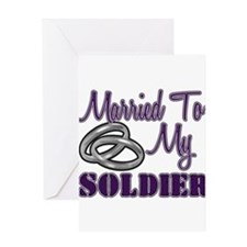 MARRIEDsoldier Greeting Cards