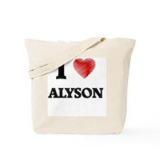 Unique Alyson Tote Bag