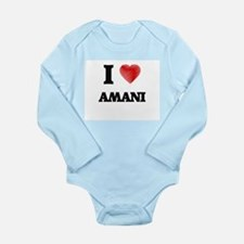 I Love Amani Body Suit