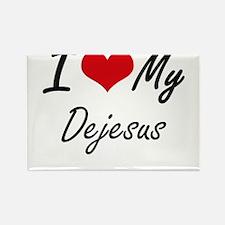 I Love My Dejesus Magnets