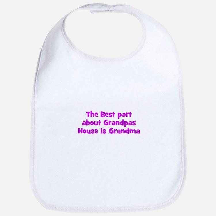 The Best part about Grandpas  Bib