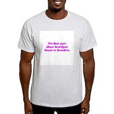 The Best part about Grandpas  T-Shirt