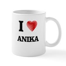 I Love Anika Mugs