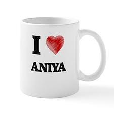 I Love Aniya Mugs