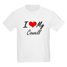 I Love My Cowell T-Shirt
