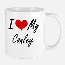 I Love My Conley Mugs