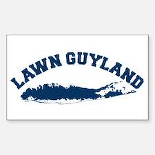 LAWN GUYLAND bumper sticker