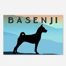 Blue Mountains Basenji Postcards (Package of 8)