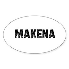 Makena Oval Decal