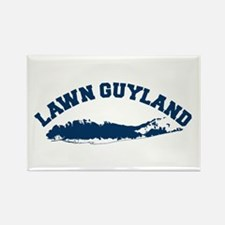 LAWN GUYLAND Rectangle Magnet