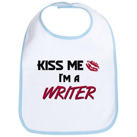 Kiss Me I'm a WRITER Bib