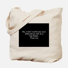 Twelve claims for annoyed graphic artists Tote Bag