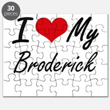 I Love My Broderick Puzzle