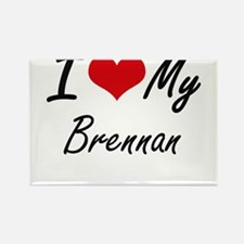 I Love My Brennan Magnets