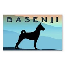 Blue Mountains Basenji Decal