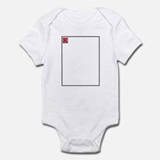 broken Image Infant Bodysuit