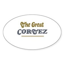 Cortez Oval Decal