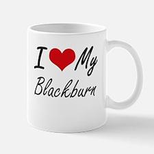 I Love My Blackburn Mugs