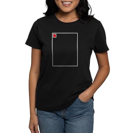 broken Image Women's Dark T-Shirt