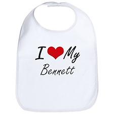 I Love My Bennett Bib