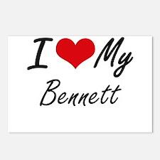 I Love My Bennett Postcards (Package of 8)