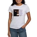 Erasmus on Buying Books Women's T-Shirt